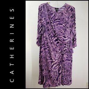 Added Dimensions For Catherines Pleated Dress 3X